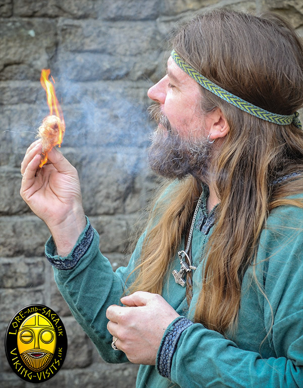 See how the Vikings made fire. www.Viking-Visits.uk