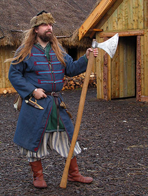 Danelaw Viking village.